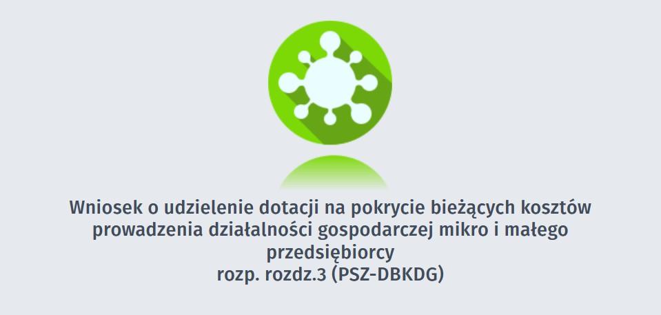 Obrazek z linkiem do wniosku o udzielenie dotacji na podstawie rozporządzenia